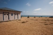 Free Beach Cabin On The Sea Shore Stock Photo - 14910360