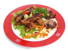 Free Pork In Tankazu Sauce. Stock Image - 14910801