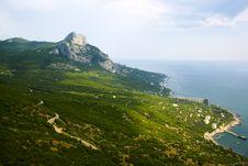 Free Crimean Coastline Stock Photography - 14911882