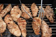 Free Grilled Meat Stock Photo - 14912150