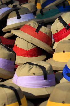 Free Safari Style Elephant Polo Hats Stock Photography - 14912202