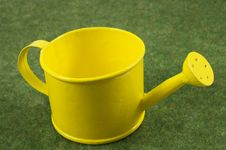 Free Yellow Watering Can Royalty Free Stock Photography - 14912307