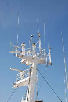 Free Ship S Navigation Instruments Tower Royalty Free Stock Photos - 14912868