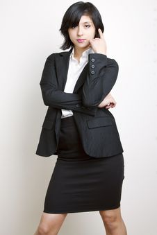 Free Suit Fem Stock Photography - 14913242