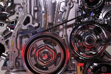 Free Car Engine In Running Stock Photography - 14913952