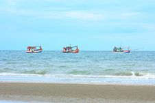 Free Sea Of Thailand. Stock Images - 14914134