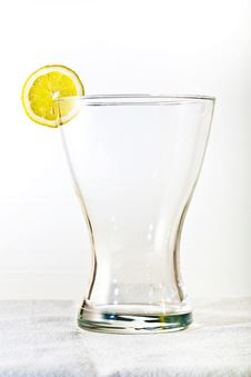 Free Glass With Lemon Royalty Free Stock Photo - 14914745