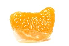 Orange Segment Royalty Free Stock Photo
