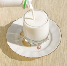 Free Glass  With Milk Stock Photo - 14916300