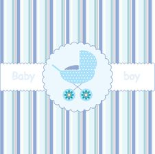 Free Card For Babyshower Stock Photo - 14916450