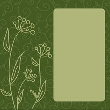 Free Vintage Floral Wallpaper Royalty Free Stock Photography - 14916497
