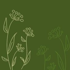 Free Vintage Floral Wallpaper Stock Photography - 14916502