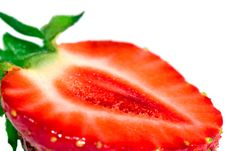 Free The Cut Strawberry Stock Images - 14916644