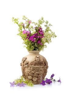Free Beautiful Bouquet Of Wild Flowers Royalty Free Stock Image - 14916716