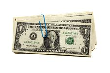 Free Fastened (assembled Together) Dollars Stock Images - 14917314