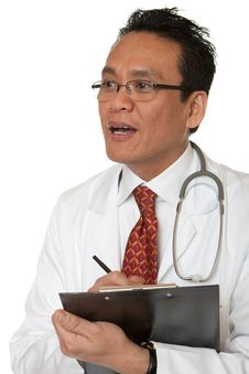 Free Friendly Doctor Royalty Free Stock Image - 14918306