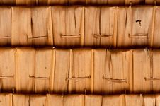 Free Sago Leaf Woven Roof Royalty Free Stock Images - 14918739