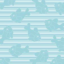 Free Blue Seamless Wallpaper Stock Photo - 14918900