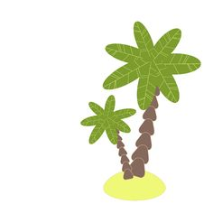 Free Illustration Of Palm Tree Royalty Free Stock Image - 14918906