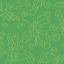 Free Vintage Floral Wallpaper Stock Image - 14918921