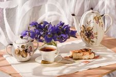 Free White Cup Of Tea Stock Photography - 14919122