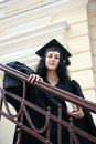 Free Young Student In Gown Royalty Free Stock Image - 14927436