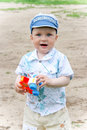 Free Boy Playing With Toy Royalty Free Stock Image - 14927506