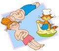 Free Child S Gymnastics Stock Photos - 14928593