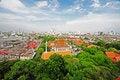 Free Thai Temple And View Of Bangkok Royalty Free Stock Photos - 14928868