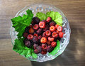 Free Red And Purple Raspberries Stock Photo - 14929490