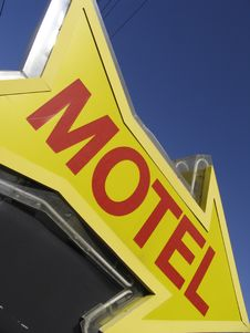 Free Motel Sign Royalty Free Stock Photography - 14920227