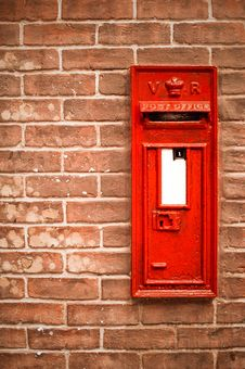 Victorian Mailbox Royalty Free Stock Photography