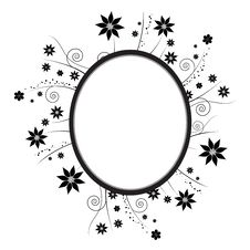 Free Floral Frame Royalty Free Stock Image - 14920916