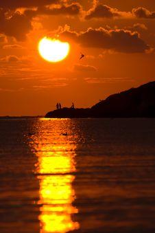 Free The Sunset Stock Photo - 14921020