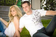 Free Young Couple Having Fun Royalty Free Stock Photos - 14921588