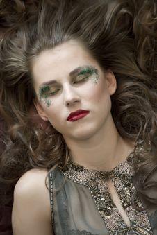 Free Glamour Eyes Make Up Stock Photography - 14921872