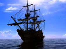 Free The Ancient Ship Stock Photo - 14922050