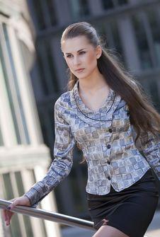 Free Rushing Businesswoman Royalty Free Stock Images - 14922129