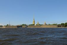 Russia, Saint-Petersburg, Peter Royalty Free Stock Photography