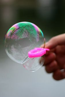 Free Soap Bubble Royalty Free Stock Photography - 14922557