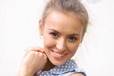 Free Portrait Of Beautiful Woman Royalty Free Stock Photo - 14922735