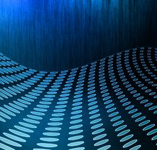 Abstract Dark Blue Field Royalty Free Stock Image