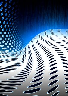 Abstract Modern Composition Stock Photo