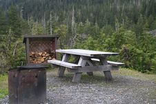 Free Tongass National Forest Picnic Area Royalty Free Stock Photography - 14923767