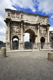 Free Arco Di Costantino, Roma, Italy Stock Photo - 14923890
