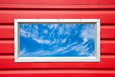 Free Window Into A Beautiful Sky Royalty Free Stock Images - 14923899