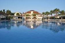Free Hotel In Turkey. A Kind On Pool Royalty Free Stock Images - 14924829