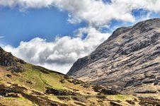 View Of Mountain Range Above Scotch Mountain Royalty Free Stock Photo