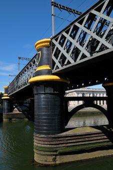 Free Bridge On Liffer River, Dublin Royalty Free Stock Photo - 14926635
