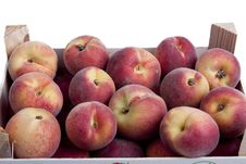 Free Crate Full Of Peaches Stock Image - 14927251